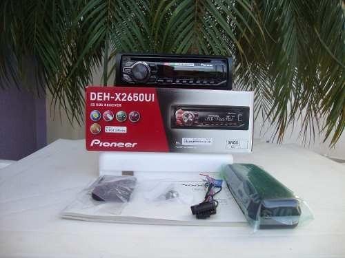 radio pioneer deh x2650 control usb ipod iphone