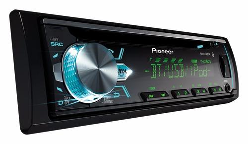 radio pioneer deh x5 cd usb aux bluetooth mixtrax + control