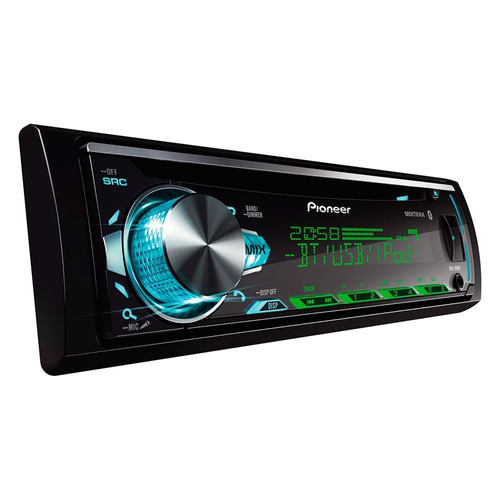 radio pioneer deh x50 bt usb aux cd bluetooth multicolor mix