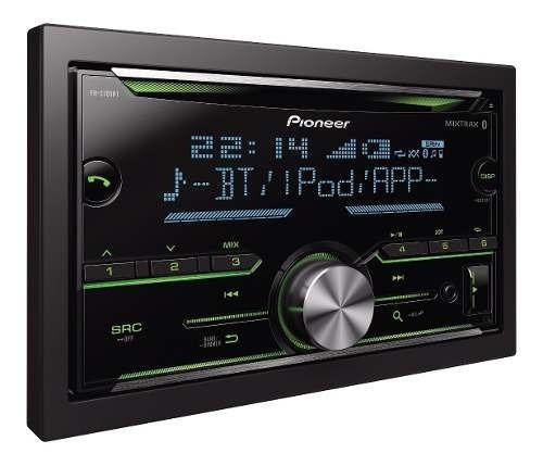 radio pioneer fh-s705bt bluetooth mixtrax usb 3rca 13 bandas