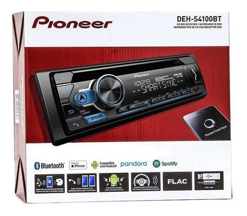 radio pioneer mp3 bluetooth usb cd deh-s4100bt 2019