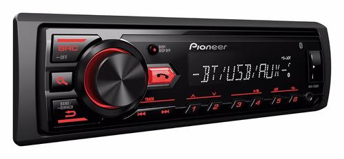 radio pioneer mvh-295bt + 4 parlantes g-sp652v 6.5 200w