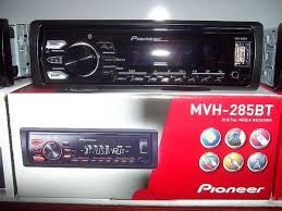 radio pioneer mvh-295bt usb bluetooth aux android playsound