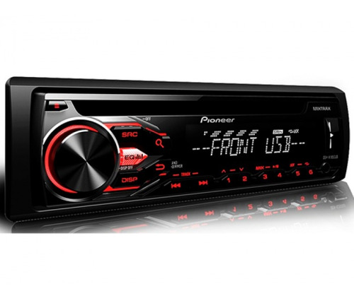 radio pioneer mvh-85ub control directo usb, aux, playsound