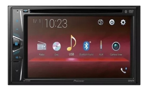 radio pioneer mvh g215bt pantalla 6,2 bluetooth mp3 usb
