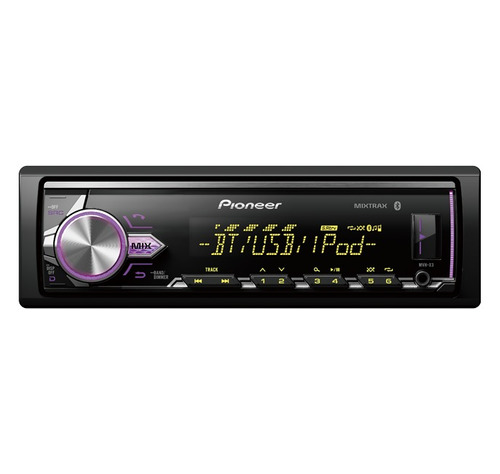 radio pioneer mvh-x3 color,bluetooth,ultimo modelo playsound