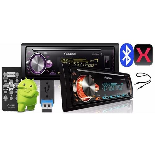 radio pioneer mvh-x30br usb bluetooth lançamento 2018
