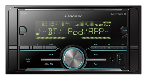 radio pioneer receiver 2 din mvh-s618bt usb bluetooth