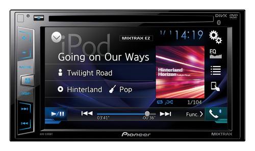 radio pioneer ref: avh-x395bt pant:6.2 , mixtrax, bluetooth®
