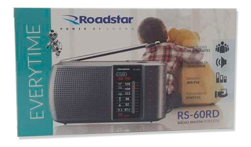 rádio portátil am/fm