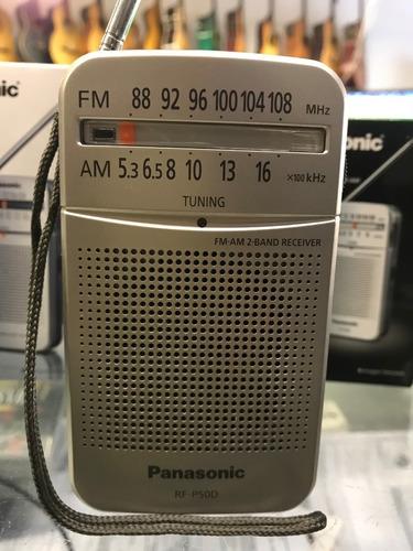 radio portatil am/fm panasonic rf-p50+pilasdiscotheque dyess