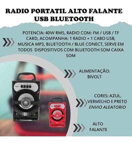 radio portatil audio
