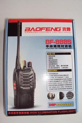 radio portátil baofeng 888s uhf  liquidacion