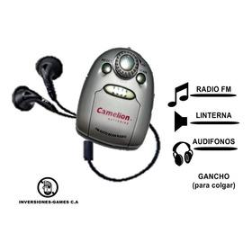 Radio Portatil Camelion Mini Flash Audífonos