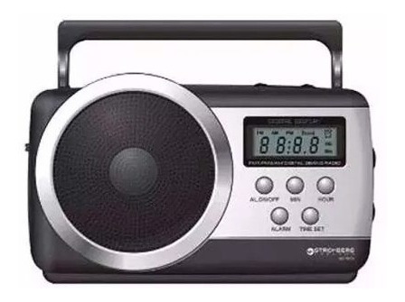 radio portátil digital stromberg carlson rd-7818.