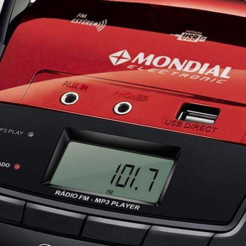 radio portatil fm mondial eletronic nbx-11