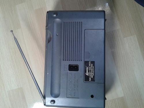 rádio portátil lenoxx  com audio tv