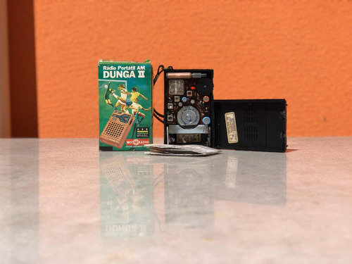 rádio portátil motoradio dunga ii novo