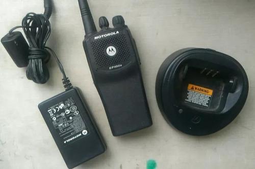 radio portatil motorola ep-450 vhf
