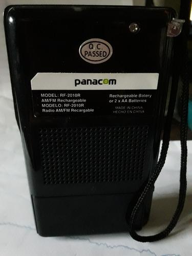 radio portatil panacom am/fm