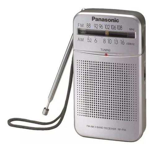 radio portátil panasonic a pilas rf-p50dpr-s