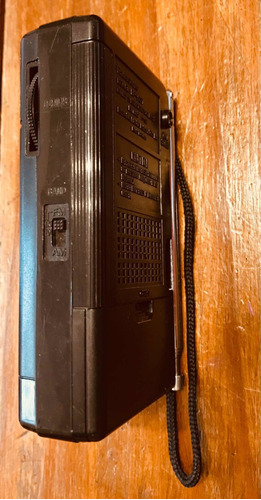 radio portátil panasonic am fm