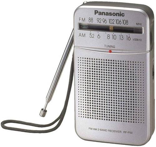 radio portatil panasonic am/fm