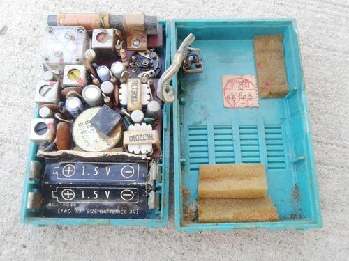 radio portatil panasonic mod r -1031 funcionando