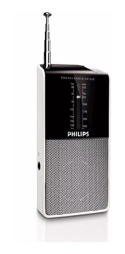 radio portátil philips ae1530/00 am fm en 6 cuotas