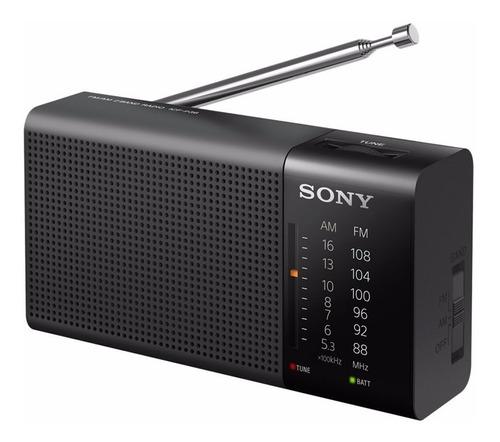 radio portatil sony am/fm p36 analogico con bocina integrada