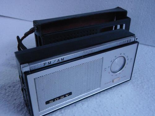 radio portátil sony ,modelo  tfm 96 fm/am
