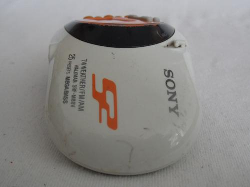 radio portatil sony walkman srf-m80v am-fm tv clima