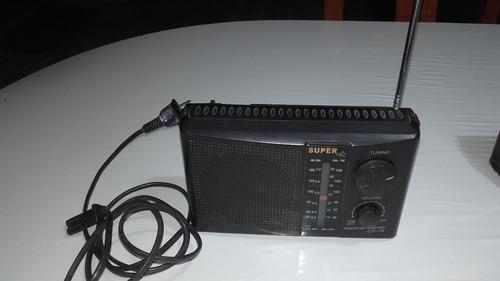 radio portatil super star am-fm antigua  funciona