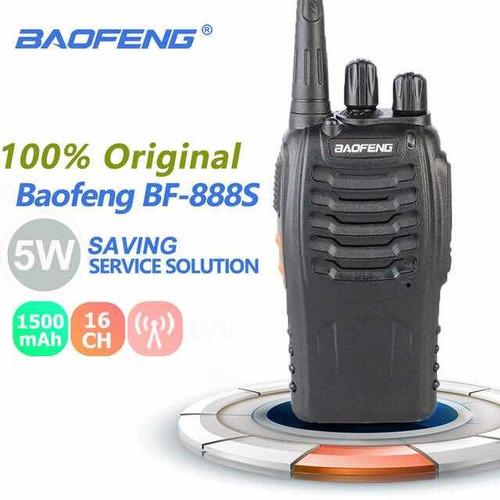 radio portatil trasmisor baofen + manos libre + caracas