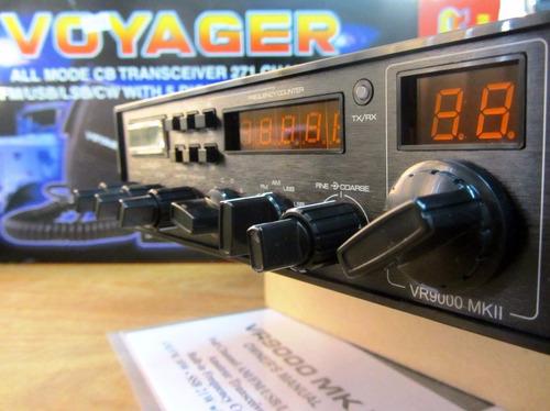 rádio px voyager vr-9000 mkii  faixa do cidadão 271 ch
