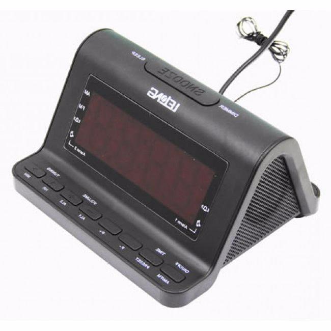 48670a5f02a Rádio Relógio Am   Fm Despertador Com Alarme Lelong Le-626 - R  59 ...