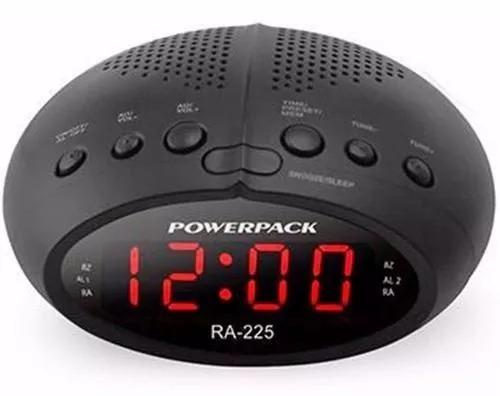 812712e0962 Radio Relógio Am Fm Digital Bivolt Duplo Alarme Melhor Preço - R  74 ...