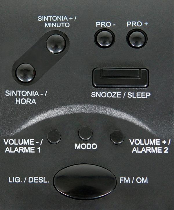 cd72196b5ff Rádio Relógio Am fm Rrd-22 Bivolt - Garantia -- Frete Grátis - R ...