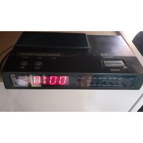 Rádio Relógio Antigo Digital Nks Funcionando