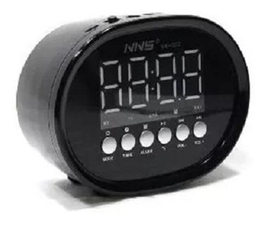 radio relogio bluetooth caixa de som despertador alarme usb