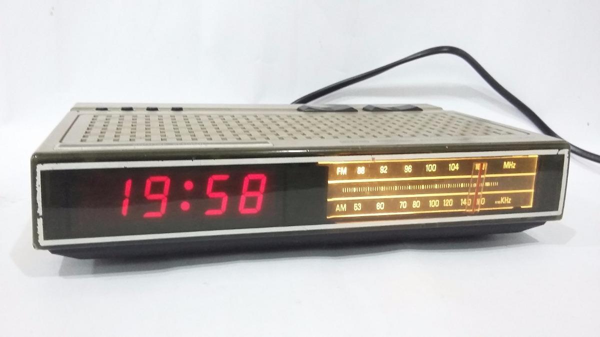 02feea17abc radio relógio cce modelo dle-300 antigo funcionando. Carregando zoom.