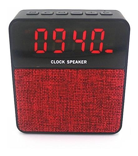 radio relógio com despertador alarme digital bluetooth mp3