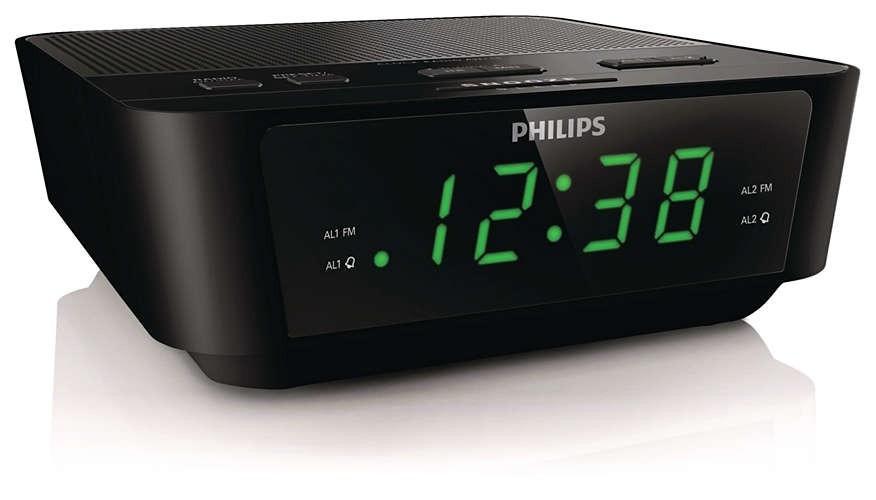 0620cf4d3f3 rádio relógio com sintonização digital aj3116 91 philips. Carregando zoom.