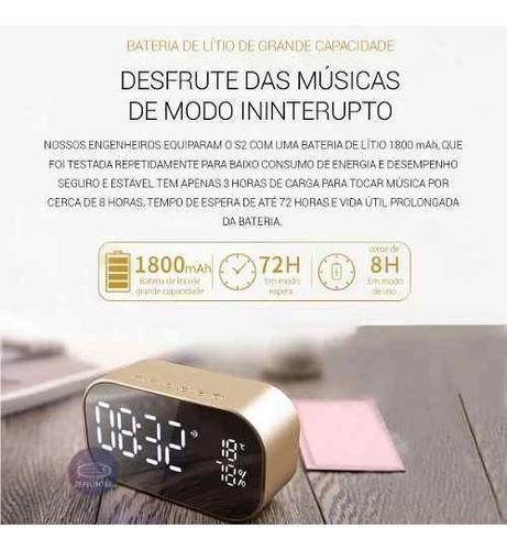 rádio relógio despertador