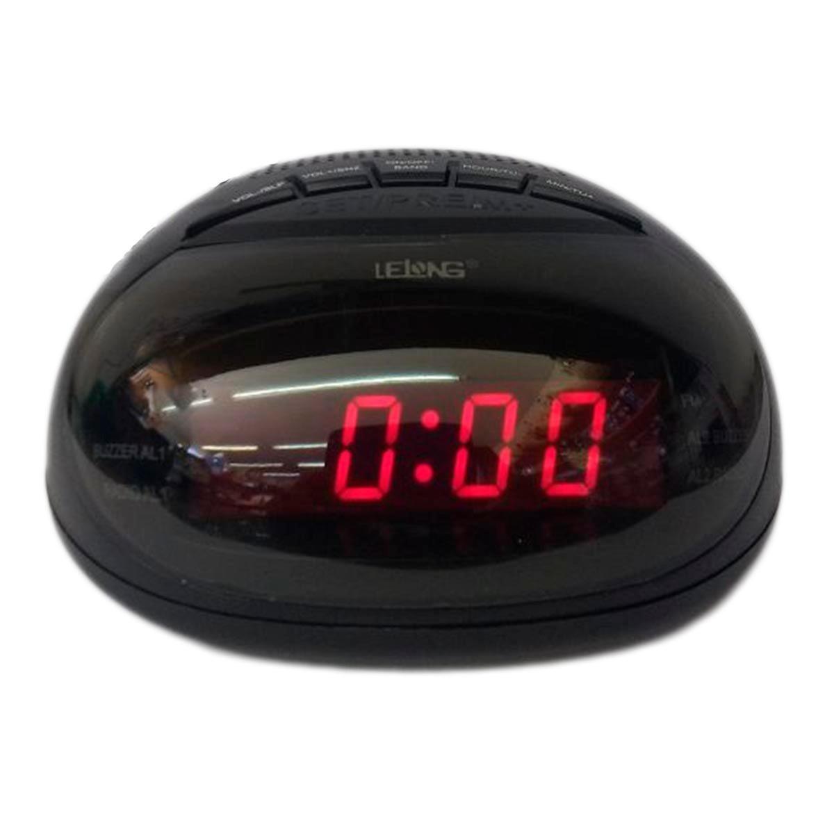 b7475a2a56b radio relógio despertador am fm lelong le-631. Carregando zoom.