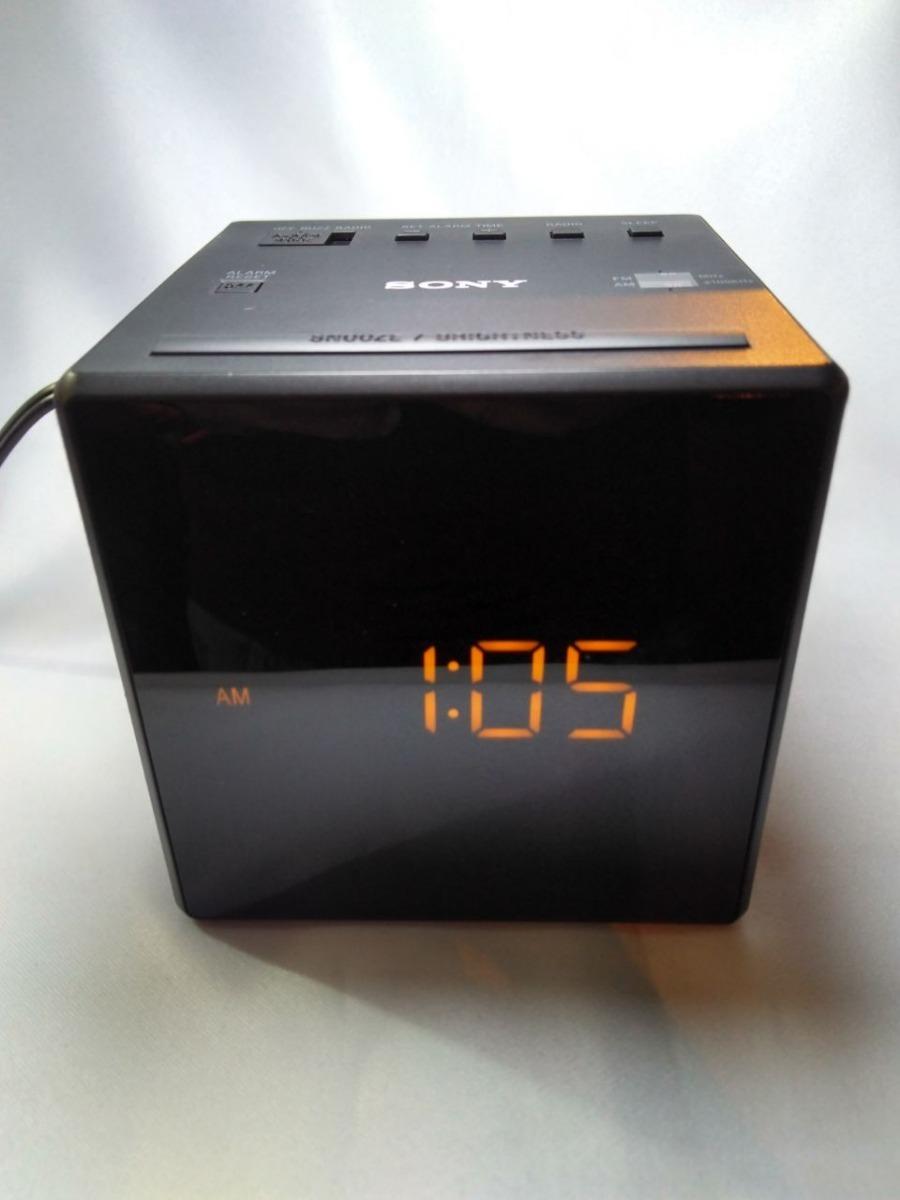 fc77169ebea rádio relógio despertador digital sony am fm. Carregando zoom.