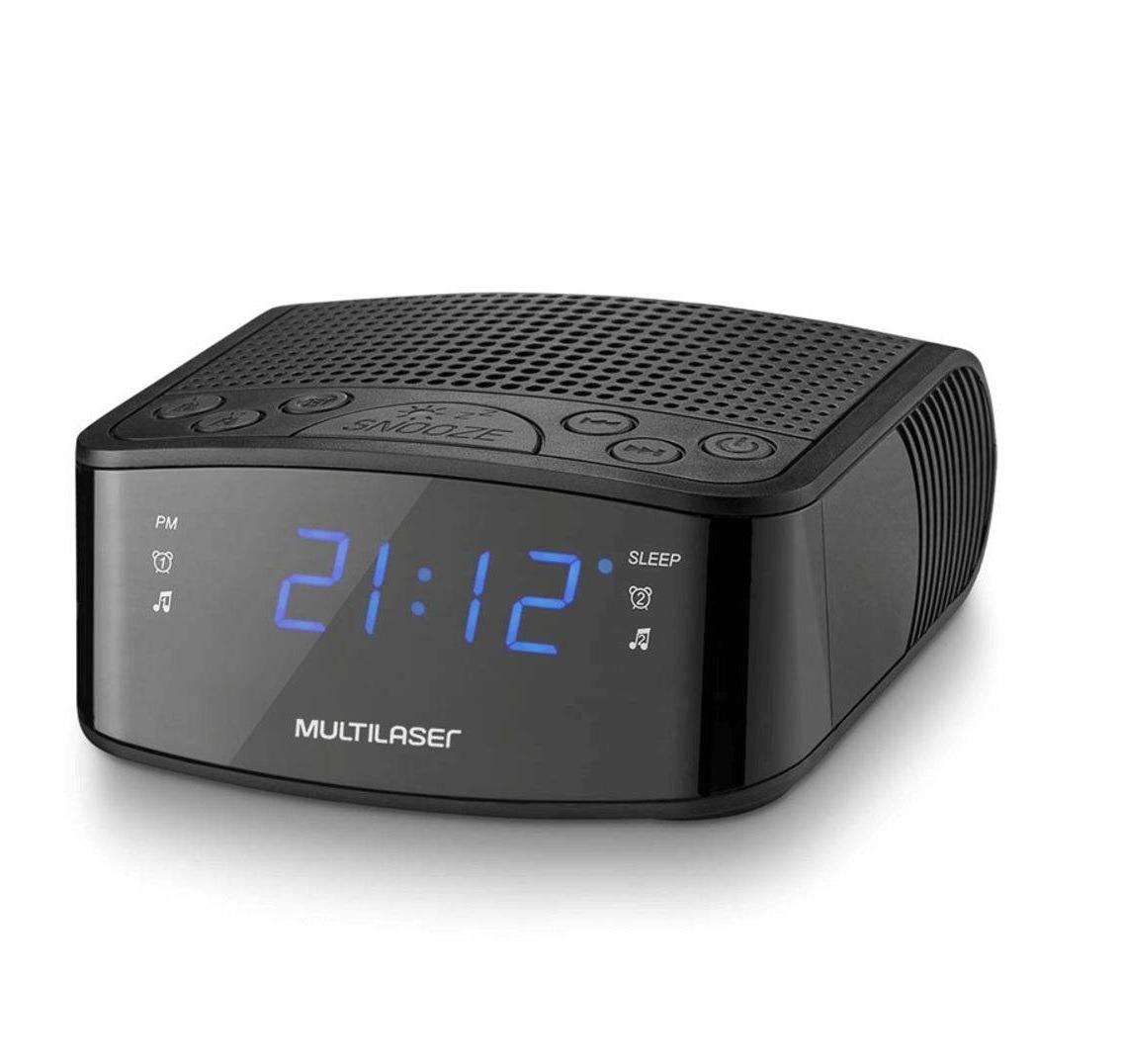 69369f20ff7 rádio relógio despertador display led função backup sp288. Carregando zoom.