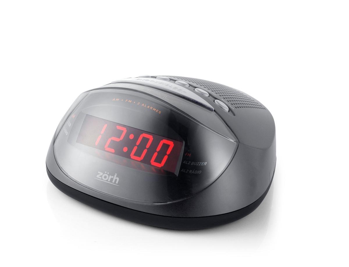 56ac459c637 radio relogio digital am fm despertador zorh. Carregando zoom.