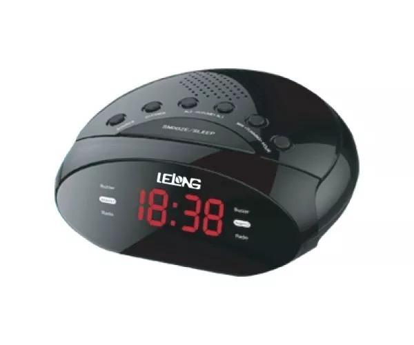 05716a92052 Radio Relogio Digital Fm Despertador Duplo Alarme Bivolt - R  55
