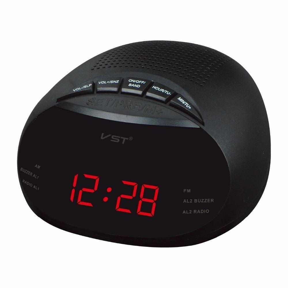 47e60c3d845 radio relogio dual alarme lelong le 631 am fm bi volt. Carregando zoom.